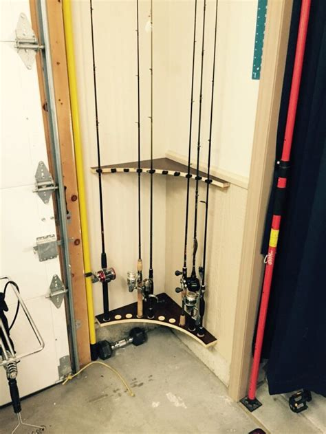 Garage Rod Holder by 25 Best Ideas About Fishing Poles On Fishing