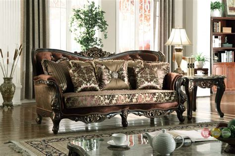luxury traditional sofas opulent traditional luxury formal sofa set