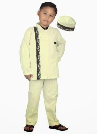Gamis Koko Anak Size 4 baju muslim anak koko dan gamis