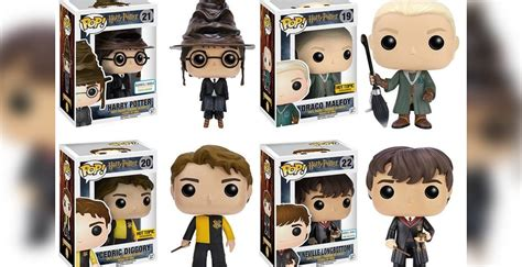 Wave 2 of funko s harry potter sorting hat harry more