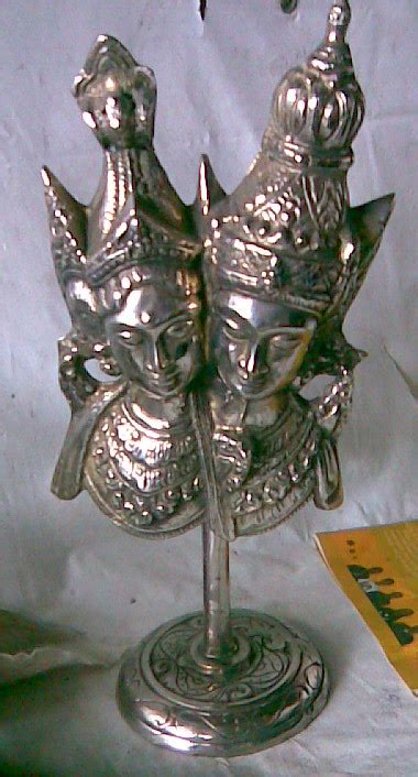 Hiasan Kuningan Anak Antik patung antik kuningan