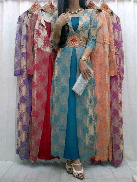 Baju Muslim Terusan Maxi Gamis Princess grosir busana muslim brukat kombinasi batik