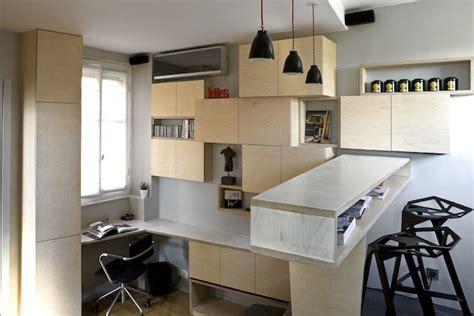 how large is 130 square feet efficient studio apartment living in paris idesignarch