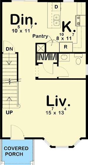townhouse plans narrow lot narrow lot townhouse 62557dj architectural designs