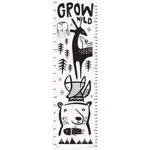 toise en coton biologique woodland droem design