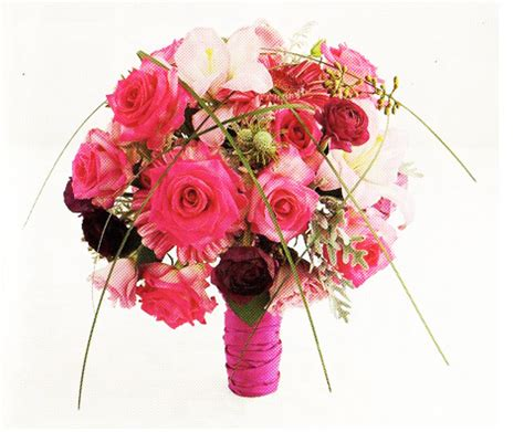 Wedding Flower Pictures Pink by Pink Wedding Bouquet Images Png