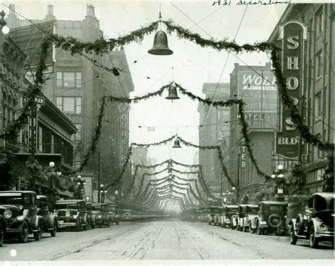 des moines christmas lights back when downtowns really decorated for christmas 15