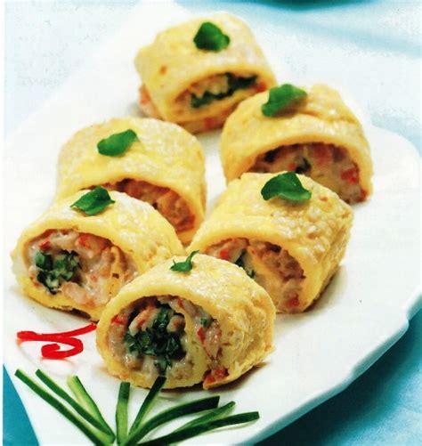 membuat omelet jepang aneka resep masakan sushi omelette with prawn