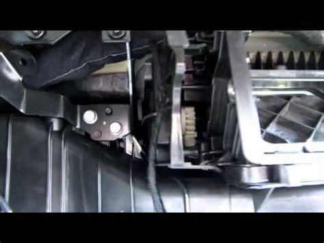 replacing  vw recirculator flap motor youtube
