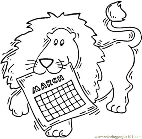 March Coloring Pages Printable   Coloring Home