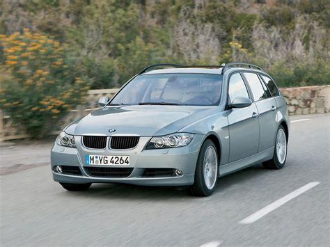 Bmw 3 Series 2006 by 2006 Bmw 3 Series Sports Wagon Front Angle Speed
