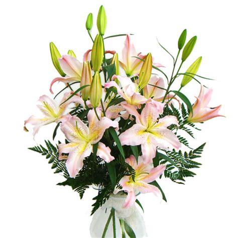 costo mazzo fiori mazzo di lilium orientali acquista fiori a