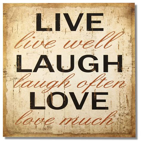 laugh live quot live laugh quot adeco wood sign beige farmhouse