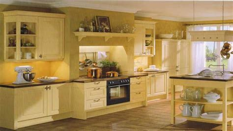 ideas for country kitchen yellow country kitchen ideas imgkid com the image