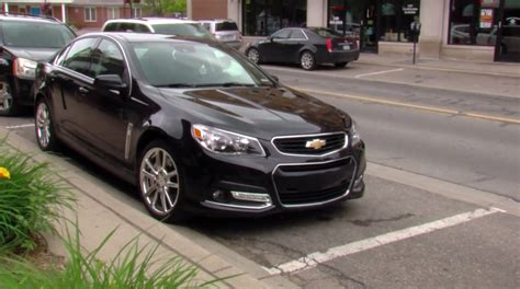 Impala 2014 Interior Chevrolet Ss Sedan With Standard Automatic Parking Assist