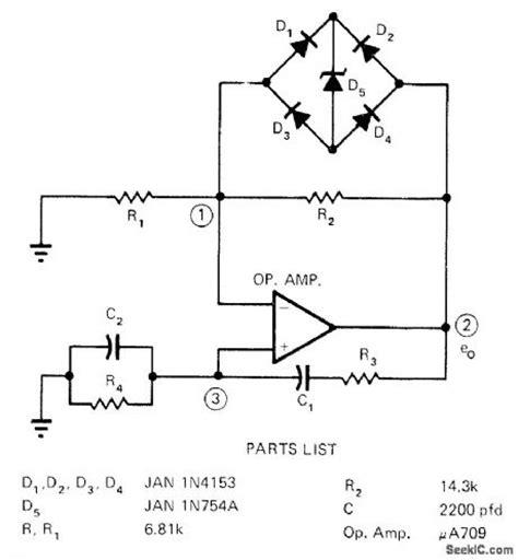 zener diode in bridge rectifier zener controls bridge control circuit circuit diagram seekic