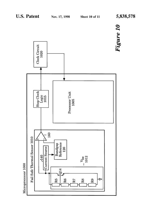 integrated circuit thermal sensor patent us5838578 method and apparatus for programmable thermal sensor for an integrated