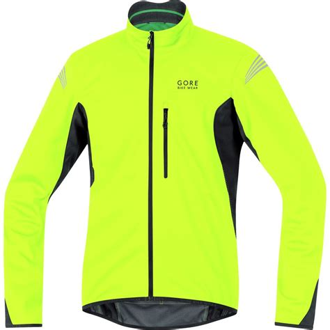 soft shell jacket cycling gore bike wear element windstopper soft shell jacket men