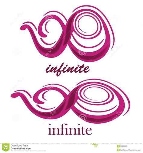 Text Infinity Symbol Infinite Royalty Free Stock Image Image 33806026