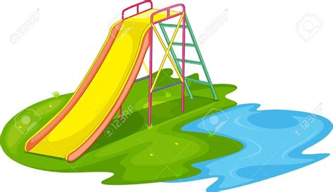 playground clip park clipart playground slide pencil and in color park