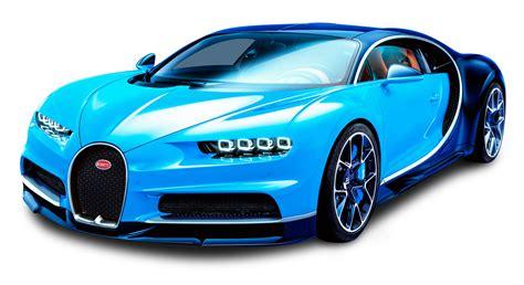 car bugatti bugatti chiron blue car png image pngpix