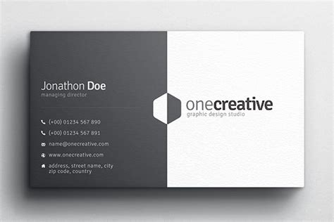 in design business card template duo business card design medialoot
