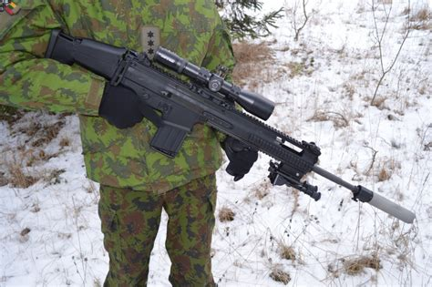 New Sniper Scar fn herstal delivers scar h precision rifles to lithuanian