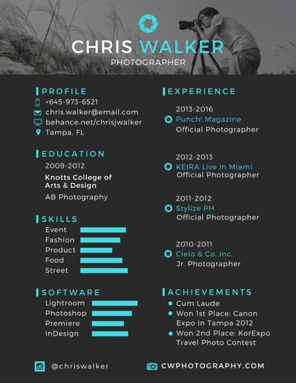professional resume templates canva