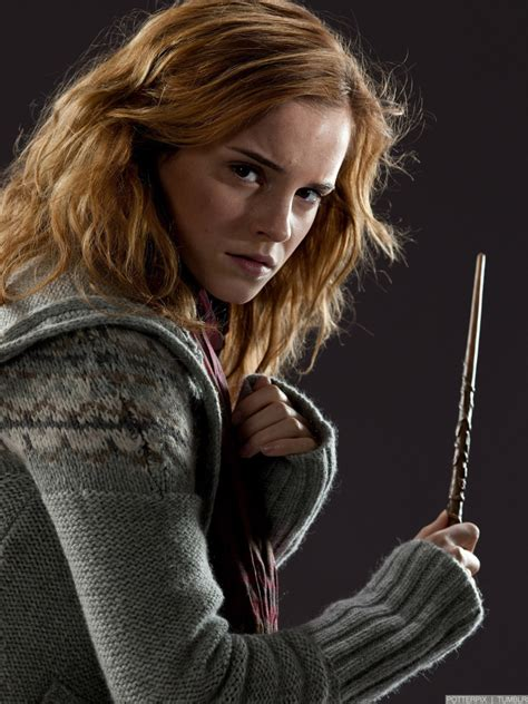 hermione is better on the big screen one many book
