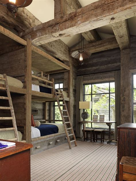 Cabin Bunkbeds by Best 25 Cabin Bunk Beds Ideas On Cabin Beds