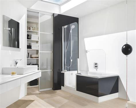 walk in bath shower combo the evolution of the modern bath tub and shower combo all my home needs