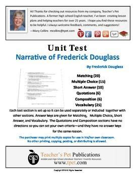 5 themes of geography unit test unit test for the narrative of the life of frederick