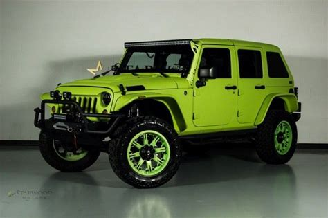 Neon Green Jeep 2013 Jeep Wrangler Http Www Iseecars Used Cars Used