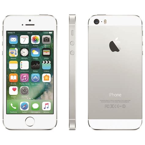 Id Iphone 5 Iphone 5s iphone 5s apple 16gb tela 4 ios 8 touch id c 226 mera