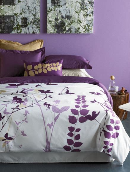 amanda purple duvet set modern duvet covers and duvet