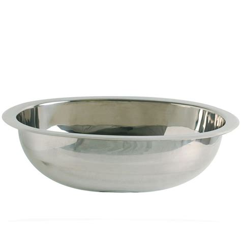 oval stainless steel bathroom sinks decolav simply stainless drop in oval bathroom in
