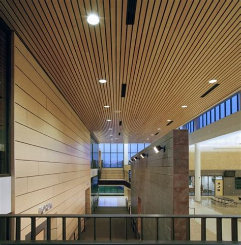 Wood Ceiling Systems by Box Series Douglas Contract Archdaily