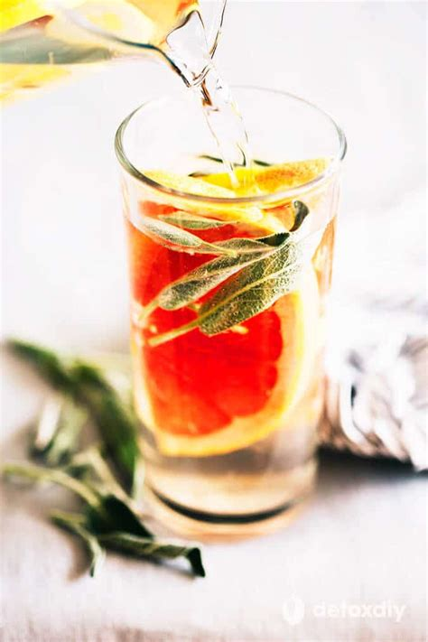 Grapefruit And Orange Detox Water by 31 Easy And Flavorful Infused Waters To Help You Stay