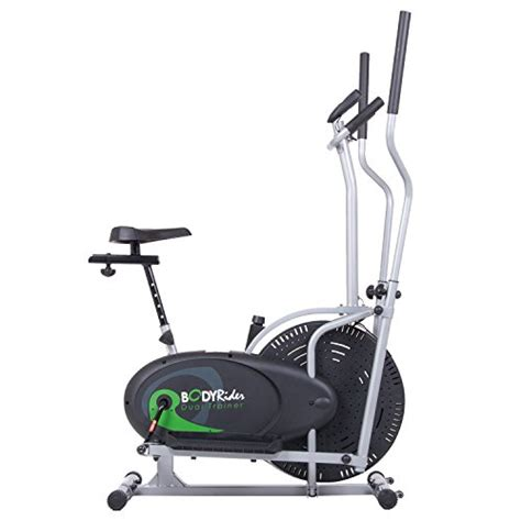 body rider fan bike body rider brd2000 elliptical trainer and exercise bike