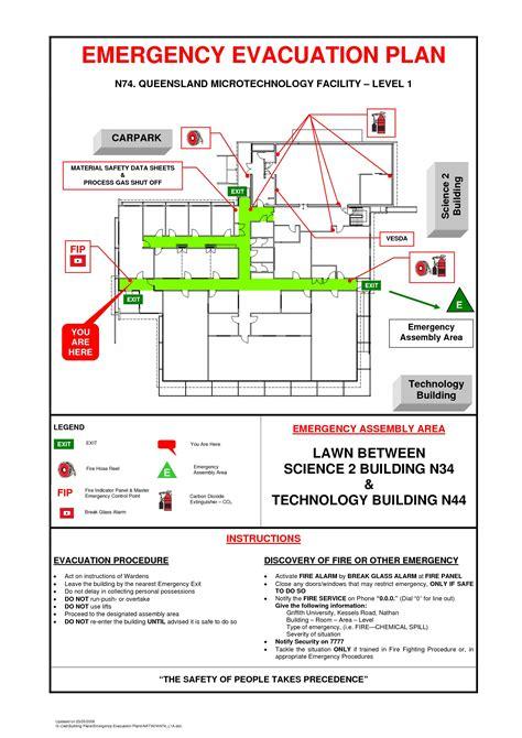 Home Evacuation Plan Template Sle Art Galleries In Emergency Evacuation Plan Template For Emergency Evacuation Plan Template For Business