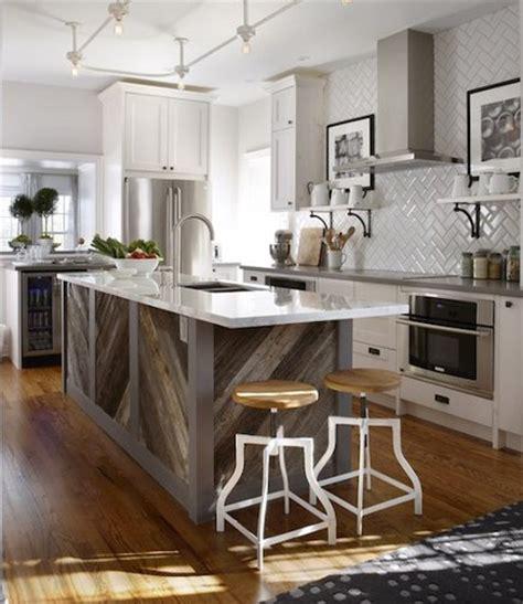 reclaimed barnwood island google search kitchen diagonal planked reclaimed wood kitchen island