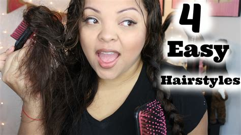 Easy Hairstyles For Frizzy Hair by Easy Hairstyles Frizzy Hair Fade Haircut