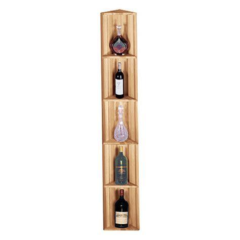 Corner Shelf Rack by Redwood Modular Wine Rack Kit Corner Display Shelf