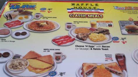 waffle house myrtle beach foto de waffle house myrtle beach the menu tripadvisor