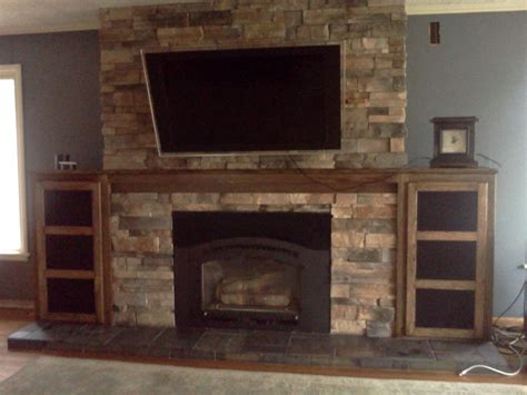 basement fireplace idea project remodel 1