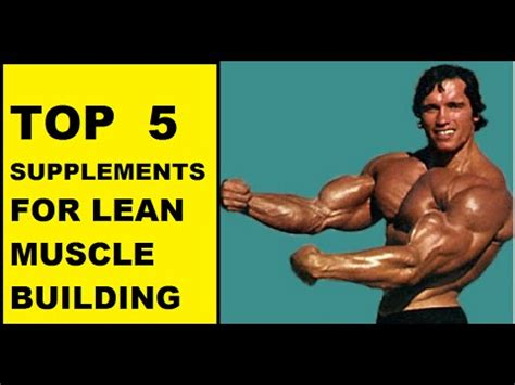 y supplements supplements for bodybuilding top five supplements for