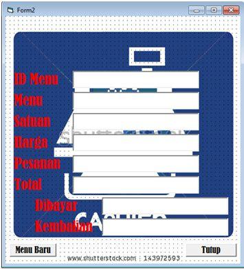 Mesin Kasir Sederhana selamat datang tutorial membuat aplikasi mesin kasir sederhana menggunakan vb 6 0