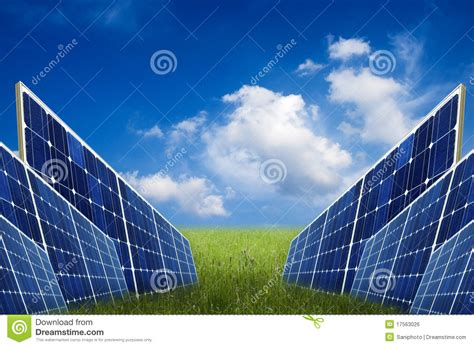 solar energy royalty free stock image image 17563026