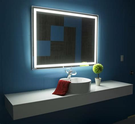 bathroom mirrors new generation 35 w x 15 quot h frameless illuminated mirror harmony 48 x 35 in ib mirror