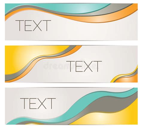 free header card templates header banner background templates stock vector image
